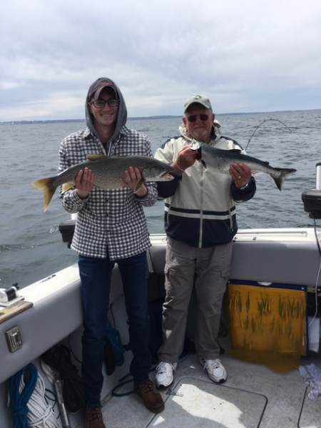 Lake Ontario Area Charter Photos with TSI Charters: Lake Ontario Fishing 0506(5)