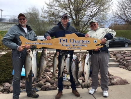 Lake Ontario Area Charter Photos with TSI Charters: Lake Ontario Fishing 0506(8)