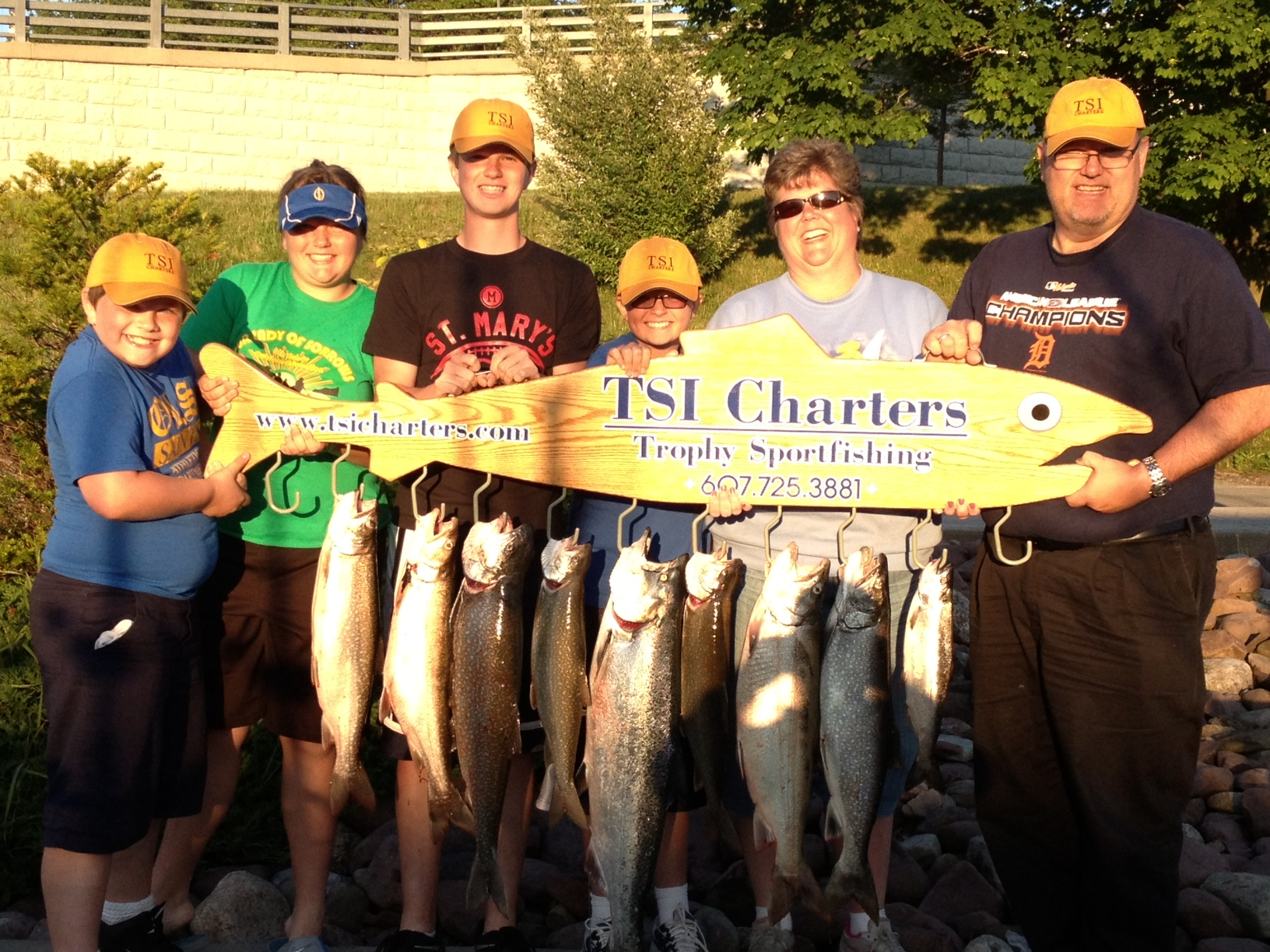 Lake Ontario Area Charter Photos with TSI Charters - ambrose-family-06-19-13-photo.jpg