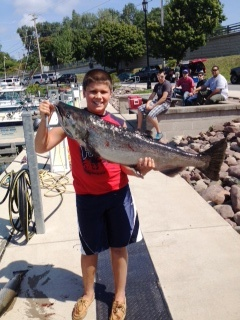 Lake Ontario Area Charter Photos with TSI Charters - lake-ontario-salmon-fishing-07.jpg
