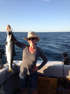 Lake Ontario Area Charter Photos with TSI Charters - Lake Ontario Salmon Fishing