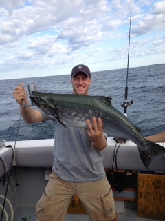 LLake Ontario Area Charter Photos with TSI Charters - ake Ontario Salmon Fishing