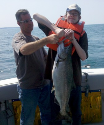 Lake Ontario Area Charter Photos with TSI Charters - tsi-charters-salmon-fishing.jpg