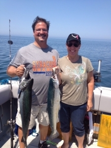 Lake Ontario Area Charter Photos with TSI Charters - photo w (1)