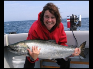 Lake Ontario Area Charter Photos with TSI Charters - slideshow jen fly copy.jpg